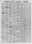 Portland Daily Press: March 24, 1875
