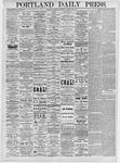 Portland Daily Press: March 25, 1875