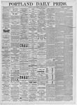 Portland Daily Press: March 26, 1875