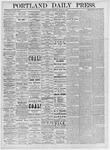 Portland Daily Press: March 27, 1875