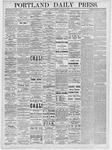 Portland Daily Press: March 29, 1875