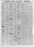 Portland Daily Press: March 30, 1875