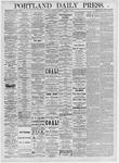 Portland Daily Press: April 1, 1875