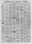 Portland Daily Press: April 2, 1875