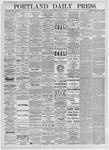 Portland Daily Press: April 5, 1875