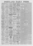 Portland Daily Press: April 6, 1875
