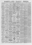 Portland Daily Press: April 8, 1875