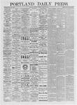 Portland Daily Press: April 10, 1875