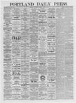 Portland Daily Press: April 15, 1875