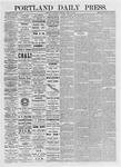Portland Daily Press: April 17, 1875