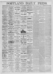 Portland Daily Press: April 21, 1875