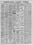 Portland Daily Press: April 22, 1875