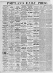 Portland Daily Press: April 23, 1875