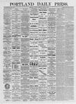 Portland Daily Press: April 24, 1875