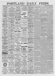 Portland Daily Press: April 27, 1875