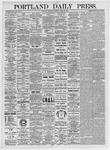 Portland Daily Press: April 29, 1875
