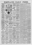 Portland Daily Press: April 30, 1875
