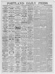 Portland Daily Press: May 1, 1875