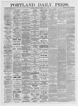Portland Daily Press: May 5, 1875
