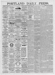Portland Daily Press: May 8, 1875