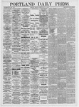 Portland Daily Press: May 13, 1875