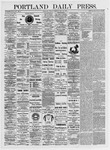 Portland Daily Press: May 14, 1875