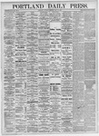 Portland Daily Press: May 15, 1875