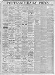 Portland Daily Press: May 19, 1875