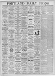Portland Daily Press: May 20, 1875