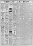 Portland Daily Press: May 22, 1875