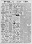 Portland Daily Press: May 25, 1875