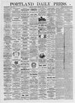 Portland Daily Press: June 1, 1875