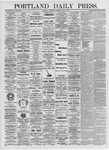 Portland Daily Press: June 2, 1875