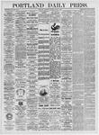 Portland Daily Press: June 3, 1875