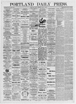 Portland Daily Press: June 4, 1875