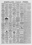 Portland Daily Press: June 5, 1875