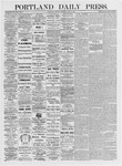 Portland Daily Press: June 8, 1875