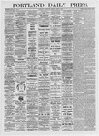 Portland Daily Press: June 9, 1875