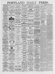 Portland Daily Press: June 10, 1875
