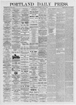Portland Daily Press: June 11, 1875