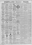 Portland Daily Press: June 12, 1875