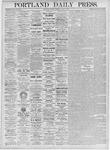 Portland Daily Press: June 15, 1875