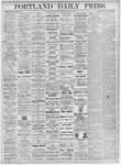 Portland Daily Press: June 17, 1875