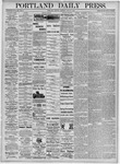 Portland Daily Press: June 21, 1875