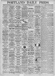 Portland Daily Press: June 22, 1875