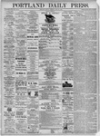 Portland Daily Press: June 25, 1875
