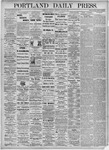 Portland Daily Press: June 26, 1875