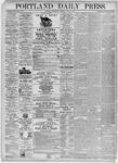 Portland Daily Press: June 30, 1875
