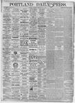 Portland Daily Press: July 1, 1875