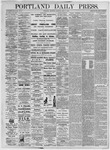 Portland Daily Press: July 8, 1875